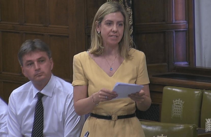 Andrea speaks in Westminster Hall on Gibraltar