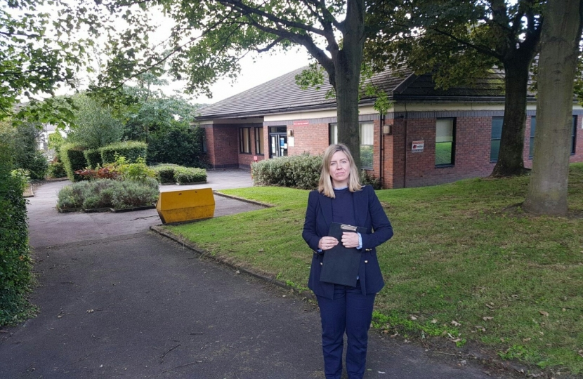 Andrea at Wrenthorpe Surgery