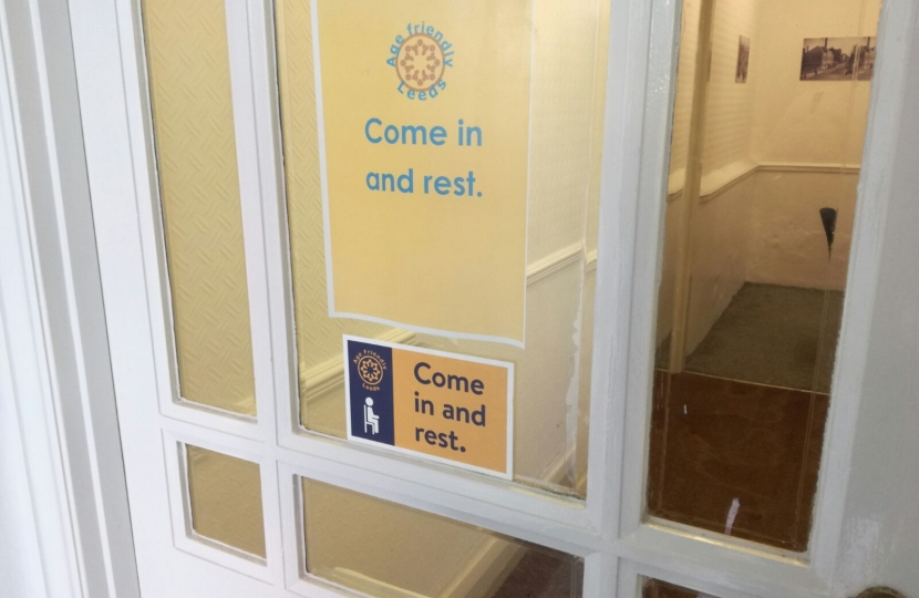 Come in and Rest initiative, Andrea Jenkyns MP