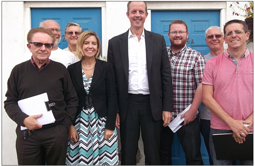 Local residents meet Minister to discuss planning issues