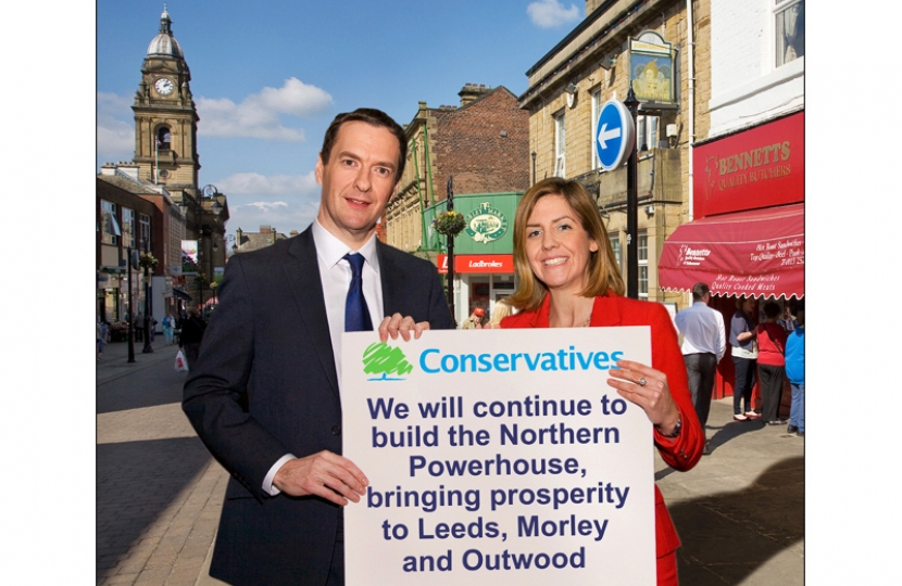 The Chancellor George Osborne and Andrea Jenkyns