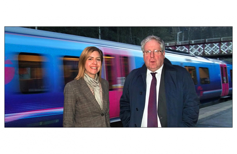 Andrea Jenkyns welcomes Patrick McLoughlin, Transport Secretary