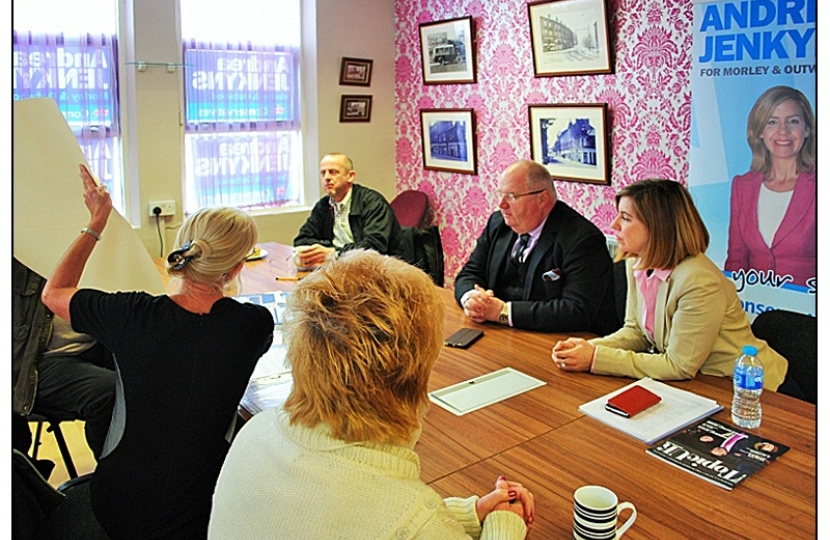 I recently brought Eric Pickles up to meet residents to discuss planning issues