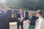 Andrea fighting for better trains