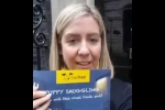 Embedded thumbnail for Andrea Delivers 'End Puppy Smuggling' Petition to Number 10