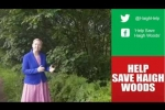Embedded thumbnail for Andrea Supports Help Save Haigh Woods